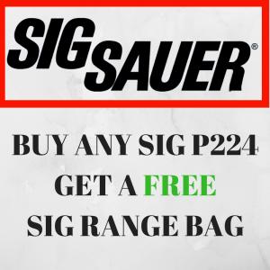 BUY ANY SIG P224GET A FREE SIG RANGE BAG