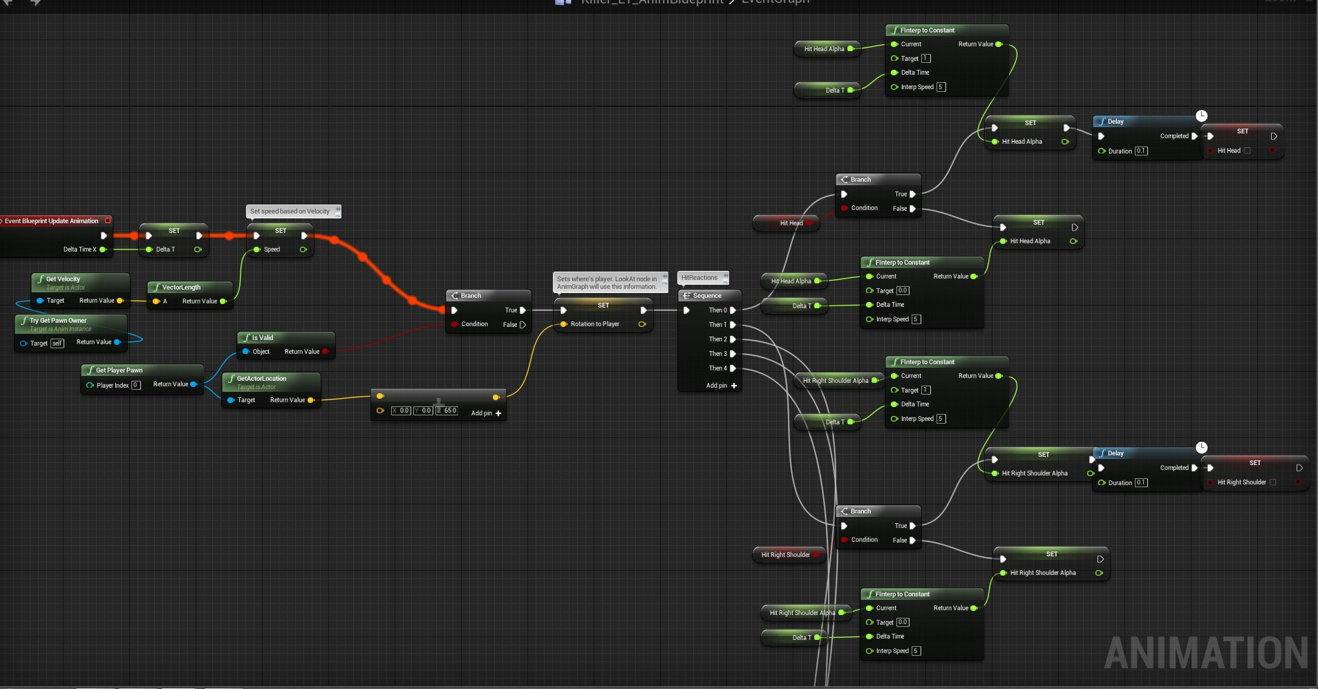 First enemy behavior tree shooting at player shooter tutorial animbp malvernweather Choice Image