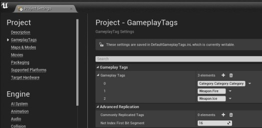 gameplaytags