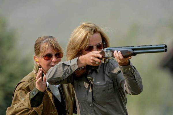 The increasing number of women shooters has encouraged more firearms manufacturers to begin making ladies' guns.