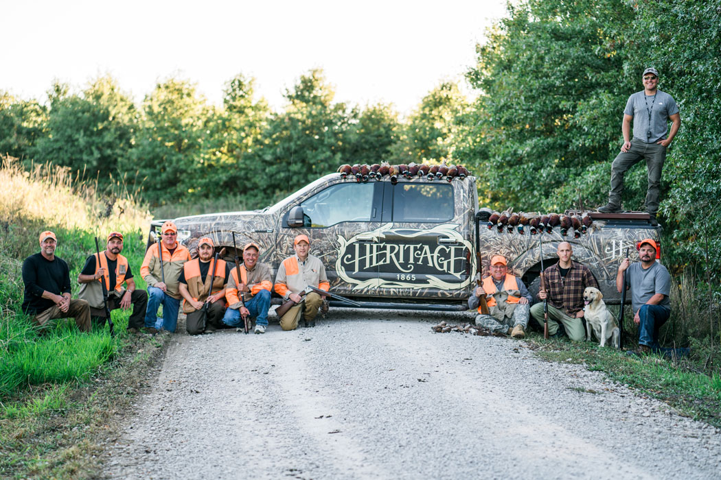 Heritage 1865, The Making of a Wingshooting Lodge