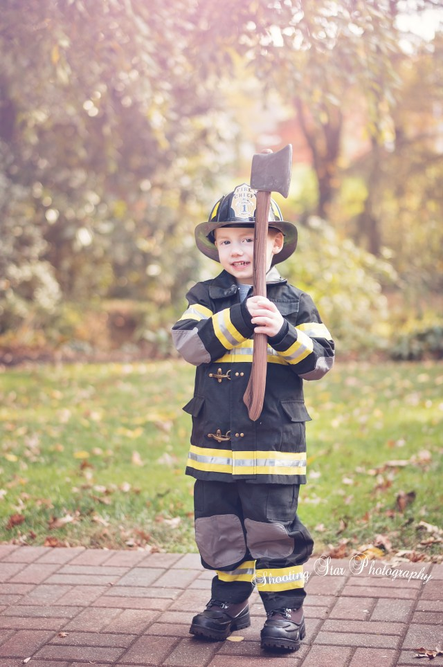 Emergency Emergency... This boy is here to help put out some fires!