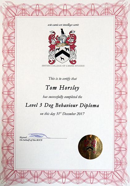 BCCS Certificate