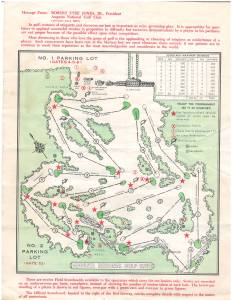 Masters Course layout