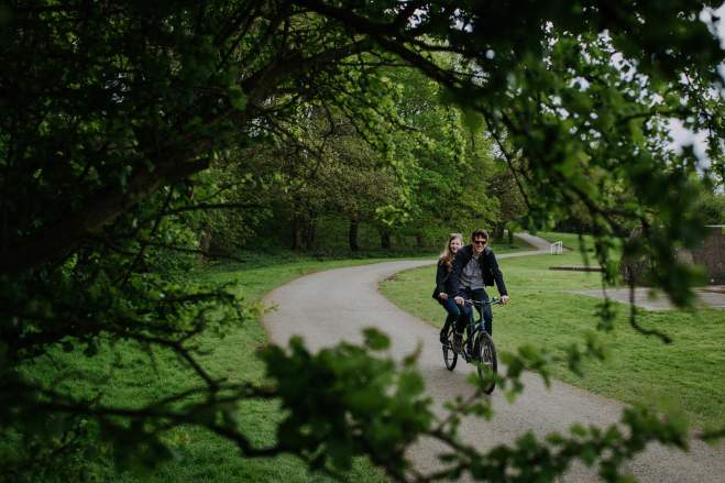 Rutland Water tandem bike