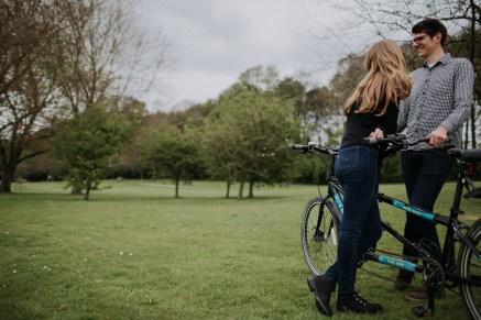 Tandem bike at Rutland Water