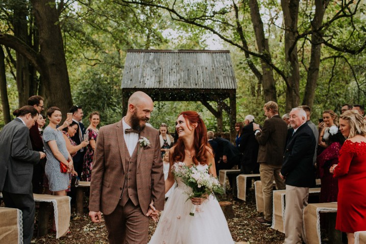 Autumnal Woodland Wedding