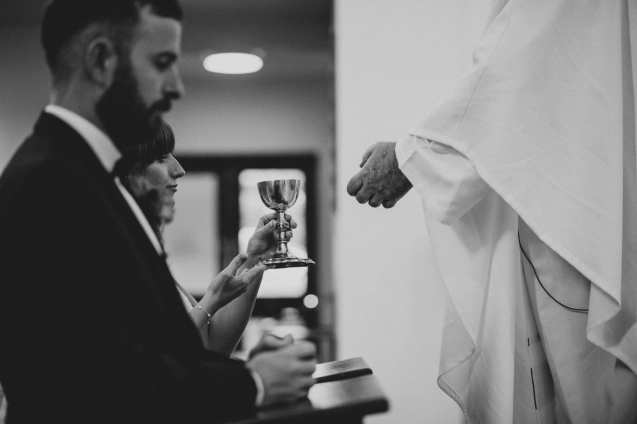 Irish Catholic wedding photographer