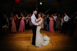 tipi wedding first dance photos