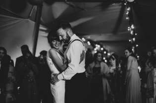 Romantic first dance wedding photography