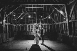 backlit wedding photo