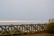 Horizon meets the Pacific. Santa Monica, CA.