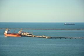 Horizon meets Atlantic ocean. Fortaleza, Brazil.