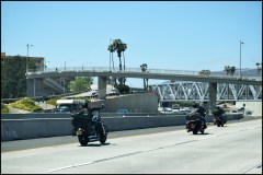 Motorcycles in California.