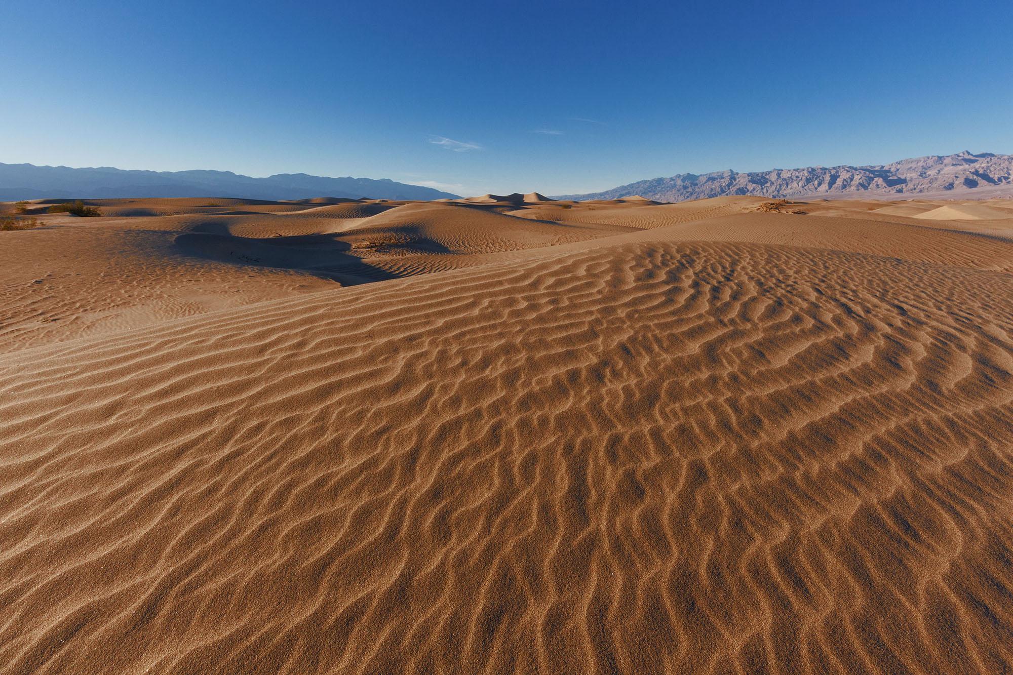 Spring Equinox at Death Valley 2017
