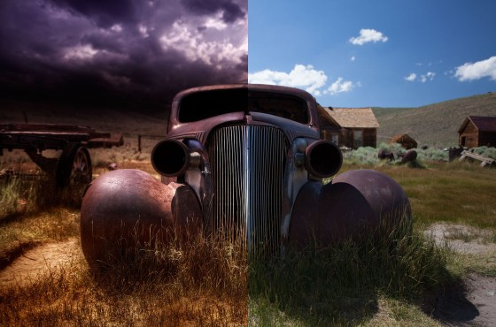 Post Process: The Old 1937 Chevy Coupe
