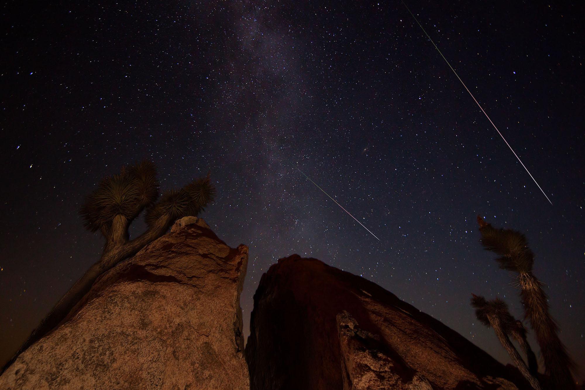 Joshua Tree National Park: Sunset and Star Shots