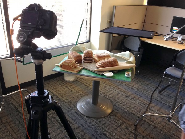 Fresh & Easy bread set-up
