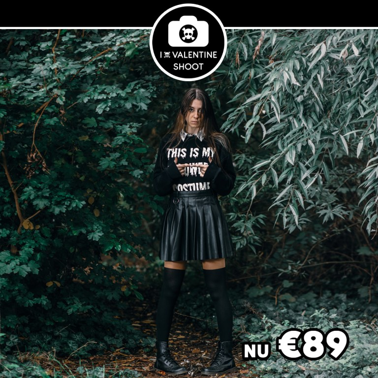 I hate valtentine fotoshoot voor 89 euro