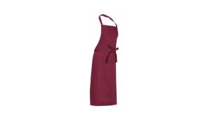 M&S Textilien, Latzschürze bordeaux 3060-4