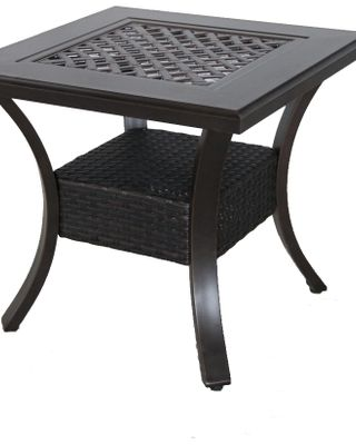 black cat portica c142424 01 crcn 25 x 25 x 22 in mixed material cast outdoor end table copperhead from unbeatablesale com daily mail