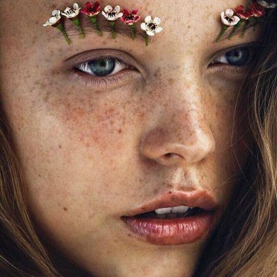 eyebrow flowers
