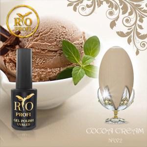 Каучуковый Гель-лак 7 мл №72 Cacao cream (новый цвет)