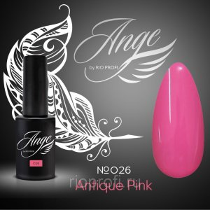 Ange Гель лак  Antique pink №26