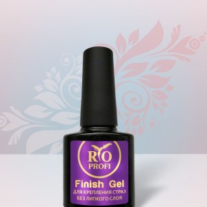Rio Profi Finish Gel для крепления страз, супер густой без липкого слоя, 10 мл