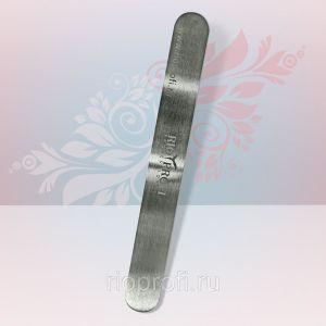 Rio Profi Металлическая пилка-основа, прямая, 13*1,6 см., мини