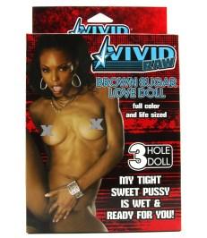 Vivid Raw Brown Sugar Love Sex Doll - Shop-Naughty.