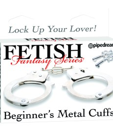 Fetish Fantasy Series Beginner's Metal Cuffs - Shop-Naughty.co.uk 3