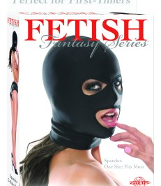 Fetish Fantasy Series Spandex 3 Hole Hood - Shop-Naughty.co.uk