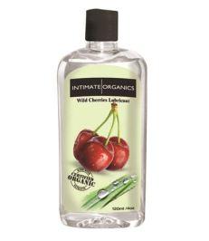 Intimate Organics Wild Cherries Flavoured Lube - Shop-Naughty.co.uk