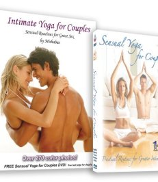Intimate Yoga for Couples Book with Yoga DVD - Shop-Naughty.co.uk