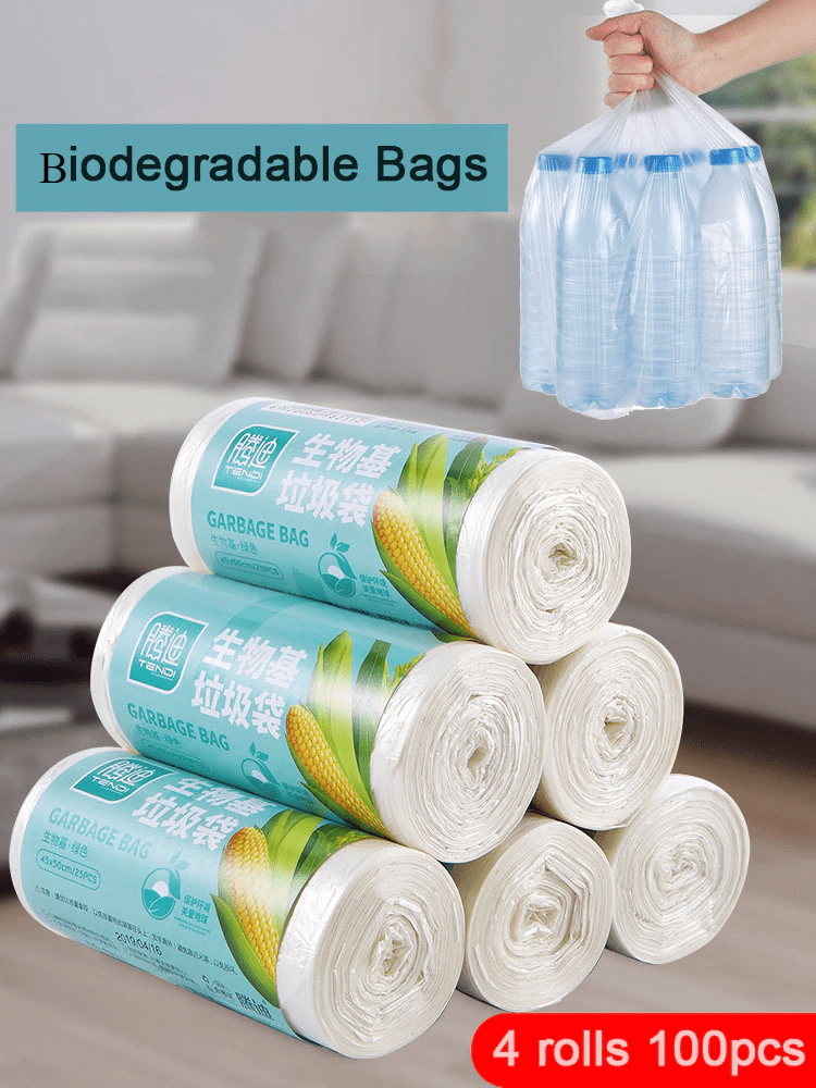 Corn Biodegradable Household Garbage Bags Eco Friendly Garbage Bags » Planet Green Eco-Friendly Shop