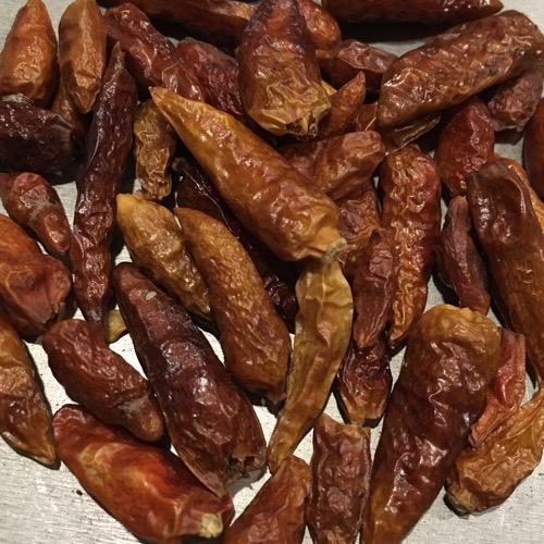 Birds Eye - ganze, getrocknete Chili Schoten