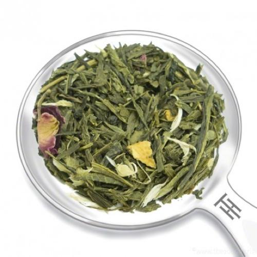 Grüner Tee mit Mango und Zitrone