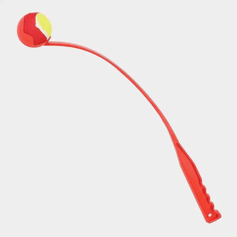 Ballwerfer Fling 'n' Fetch von Happy Pet in der Farbe rot
