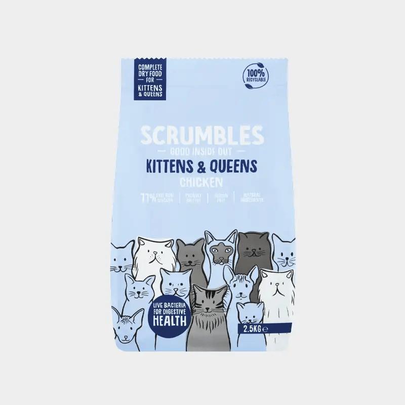 Alleinfutter Kittens & Queens von Scrumbles für Katzen - Hühnchen 2.5 k