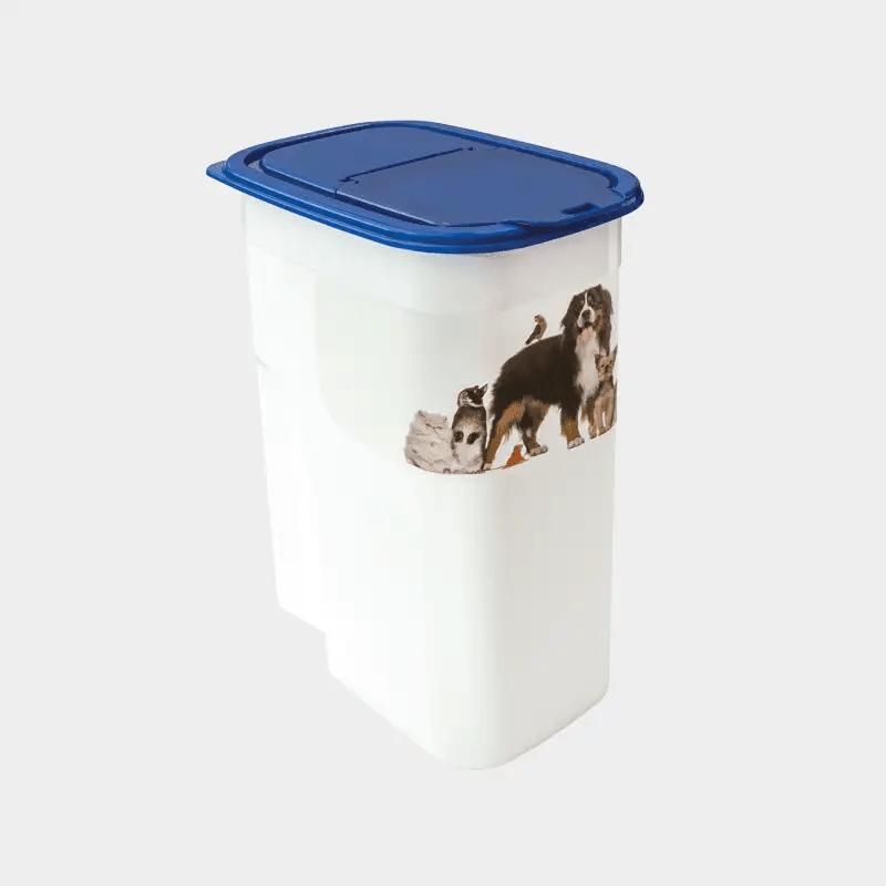 Weißer Futterbehälter Basic 4,1 l von Rotho MyPet