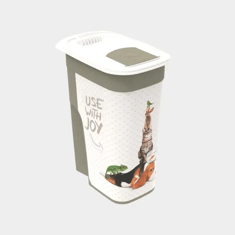 """Tierfutter Schüttdose Flo Design """"JOY"""" 4,1 l von Rotho MyPet"""