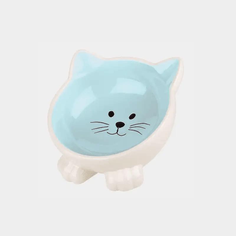 Happy Pet Orb Katzennapf in der blauen Variante