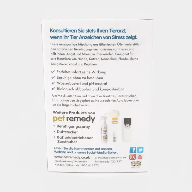 Pet Remedy Feuchttücher 12er Set Richtlinien