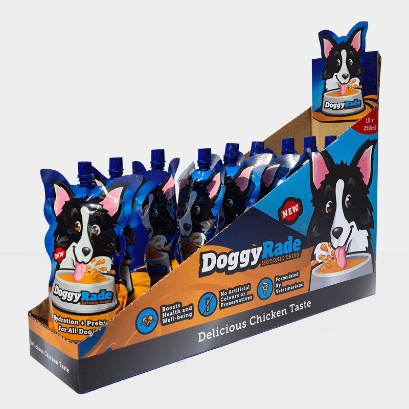 Display DoggyRade 250ml von Tonisity