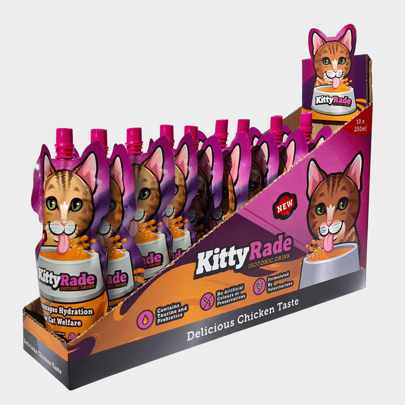 KittyRade 250 ml Display von Tonisity