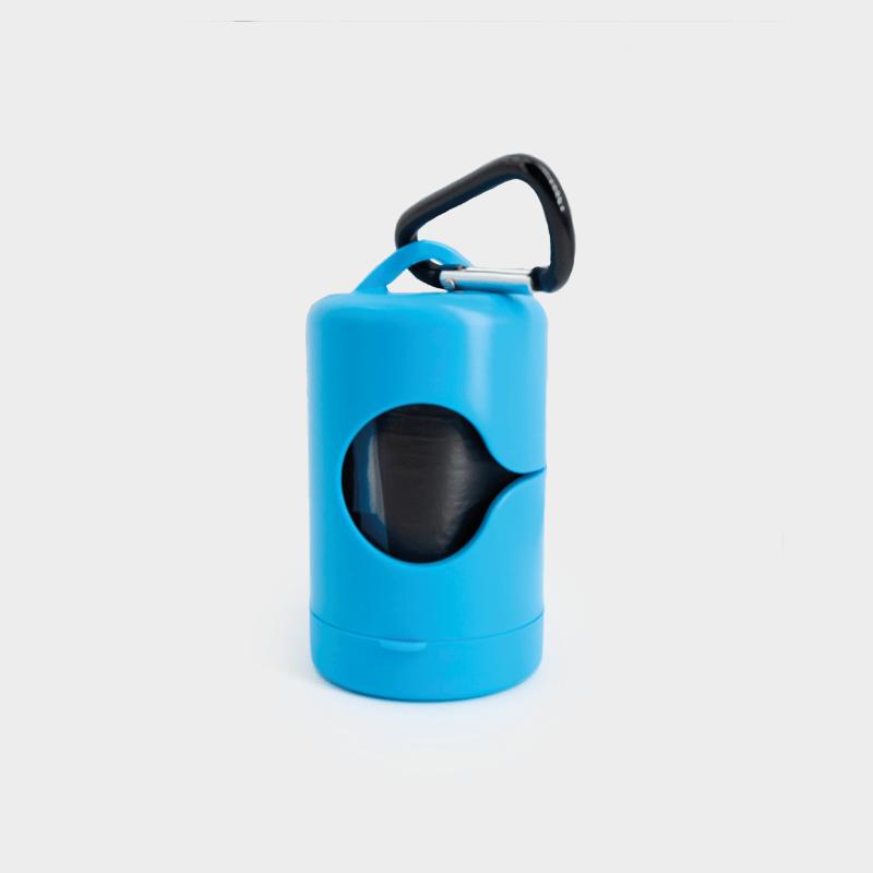 Blauer Kotbeutelspender von Mecanhor