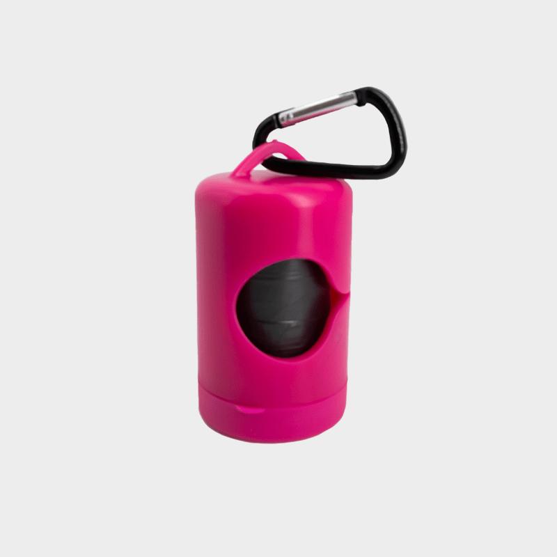 Pinker Kotbeutelspender von Mecanhor