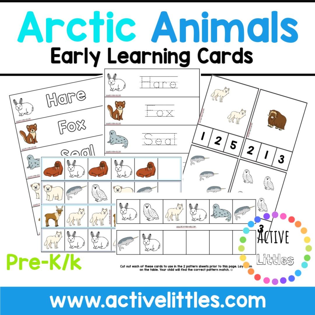 Arctic Animals Printable