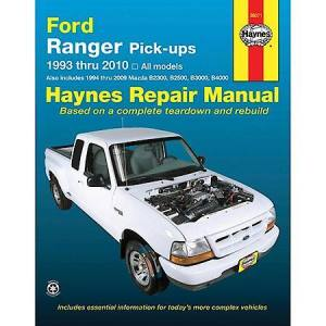 Haynes Ford Ranger Pickup '93'08 Repair Manual 36071